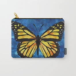 Monarch Butterfly Digital Painting Carry-All Pouch