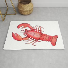 Lobster: Fish of the World Rug