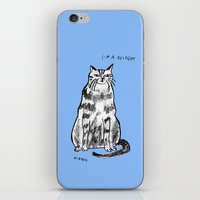 rubyetc iPhone & iPod Skins featuring I'm a delight by rubyetc