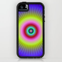 Concentric Rings in Color iPhone Case
