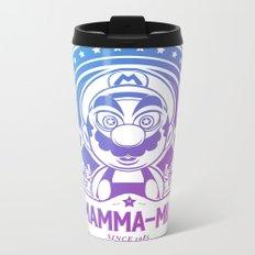 Mamma Mia Super Mario is-a Crazy Metal Travel Mug