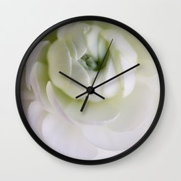 As the petals of a flower Wall Clock