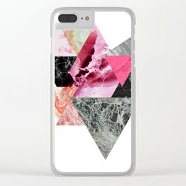 Abstract Digital Print- Original Artwork Poster Clear iPhone Case