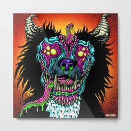 Demon Dog Metal Print