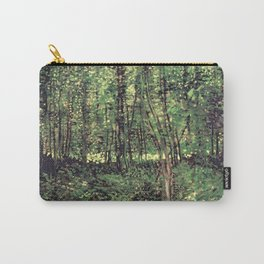 Trees and Undergrowth Carry-All Pouch