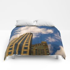 cloudy day N.Y Comforters
