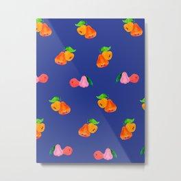 Jambu I (Wax Apple) - Singapore Tropical Fruits Series Metal Print