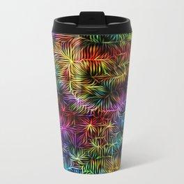 Rainbow Weaving Metal Travel Mug