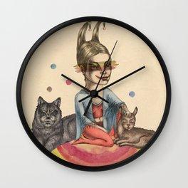 My little circus Wall Clock