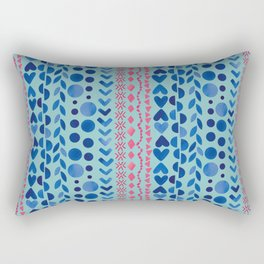 Watercolour Shapes - Magic Villa Rectangular Pillow