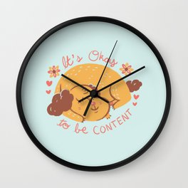 Dog Wisdom Wall Clock