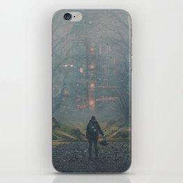 Digital Forest iPhone Skin
