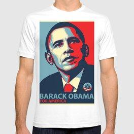 BARACK OBAMA FOR AMERICA T-shirt