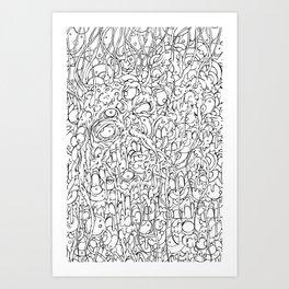Amalgamation Art Print