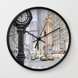 I have visited the city many years ago, I love New York Wall Clock