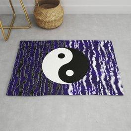 Yin Yang Blue Tranquility Rug