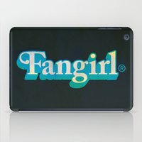fangirl iPad Cases featuring Fangirl by Aaron Synaptyx Fimister