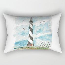 Cape Hatteras Lighthouse Rectangular Pillow
