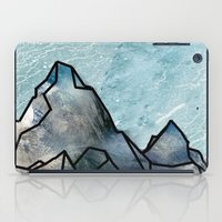 mountain iPad Cases featuring Mountain by madbiffymorghulis