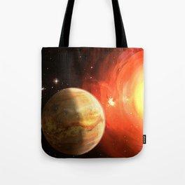 Planet Venus Tote Bag