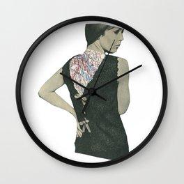 No Walk Over Wall Clock
