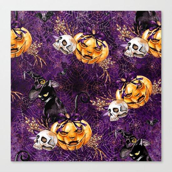 Halloween Witch #3 Canvas Print
