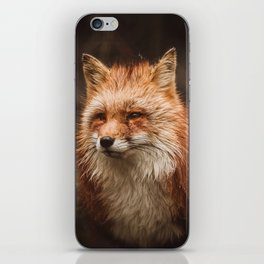 American Red Fox iPhone Skin