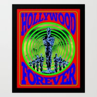 Hollywood Forever Art Print