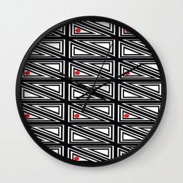 Triangle Box Wall Clock