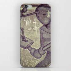 think4yourself iPhone & iPod Skin