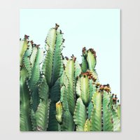 Canvas Prints featuring Cactus Love #society6 #decor #buyart by 83 Oranges™