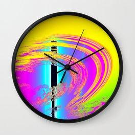 rainbow for dummies Wall Clock
