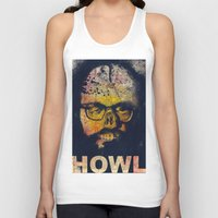 howl Tank Tops featuring Howl by Alec Goss