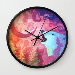 Howl @ The Moon Wall Clock