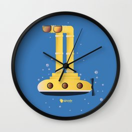 Underwater Wall Clock