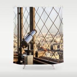 Distance All Around – Rundherum Ferne Shower Curtain