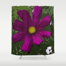 The Middle - Flowerbed Shower Curtain