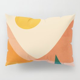Abstraction_Lake_Sunset Pillow Sham