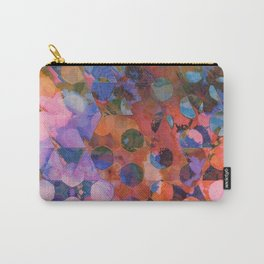 Circles on Triangles Twilight Carry-All Pouch