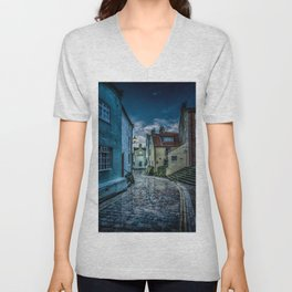 Cobbled Way Unisex V-Neck
