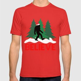 Cryptid Christmas Miracle T-shirt