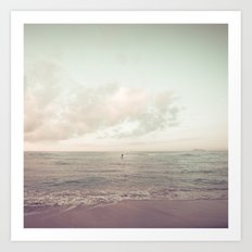 calm day ver.vintage Art Print