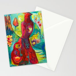 The keepers of love. Stationery Cards