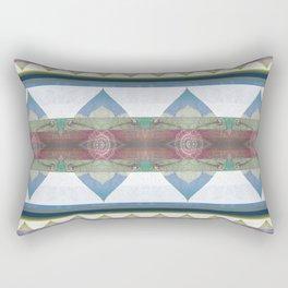 Art Nouveau Boho Geometric Gentle Tones Rectangular Pillow