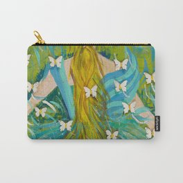 The Butterfly Girl Carry-All Pouch