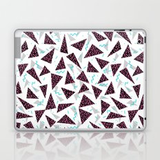 Trendy 80's style geometric triangle retro cool neon pattern art print affordable college dorm decor Laptop & iPad Skin