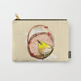 Spring birdy / Nr. 1 Carry-All Pouch