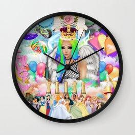 Sad Queen Wall Clock