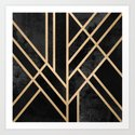 Art Deco Black by elisabethfredriksson