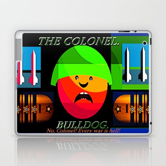 "Colonel ""Bulldog""! Laptop & iPad Skin"